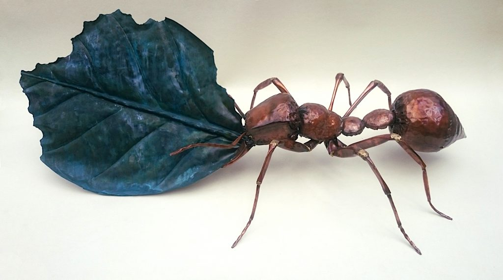 leafcutter ant sculpture