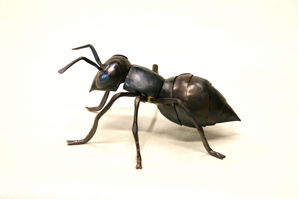 worker ant sculpture