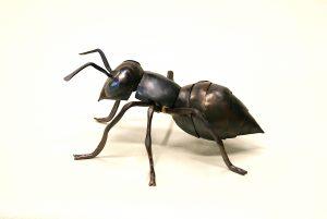 worker ant sculpture