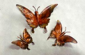Swallowtail butterfly sculpture