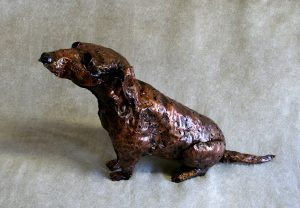 Jack Russell sculpture