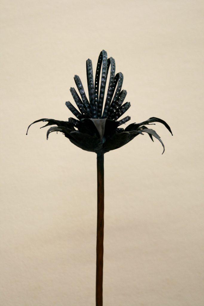 eryngium sculpture