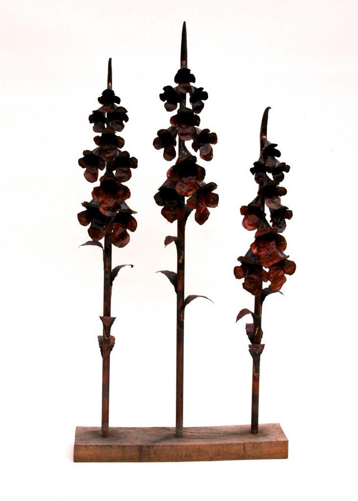 foxglove sculpture