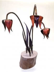 fritillary group sculpture