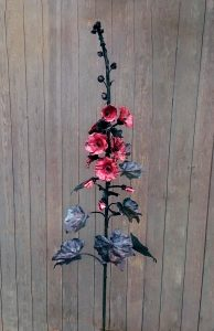 hollyhock sculpture