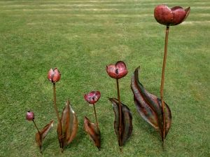 tulip sculptures