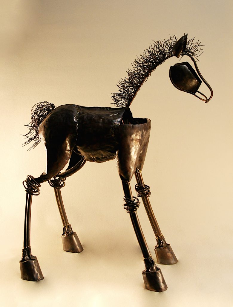 foal sculpture