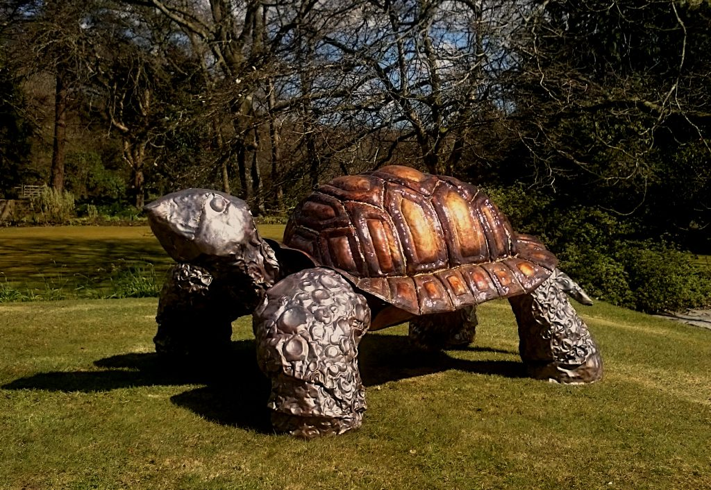 giant tortoise sculpture