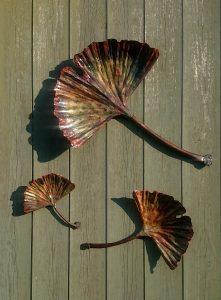 ginkgo gingko leaf sculpture