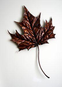 leaf sculpture