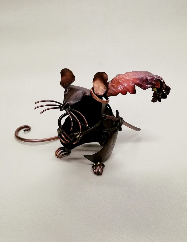 mouse sculpture reepicheep