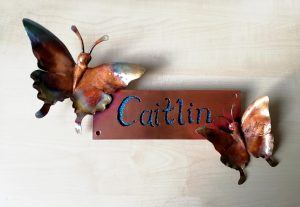 name plate sculpture