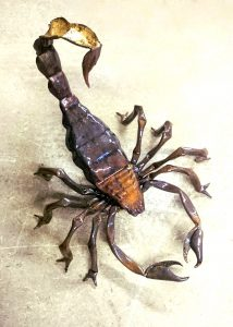 scorpion sculpture