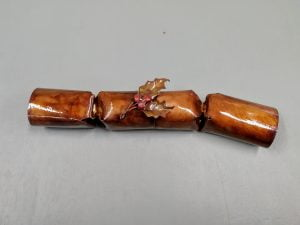 Emily Stone Copper Christmas Crackers Sculpture