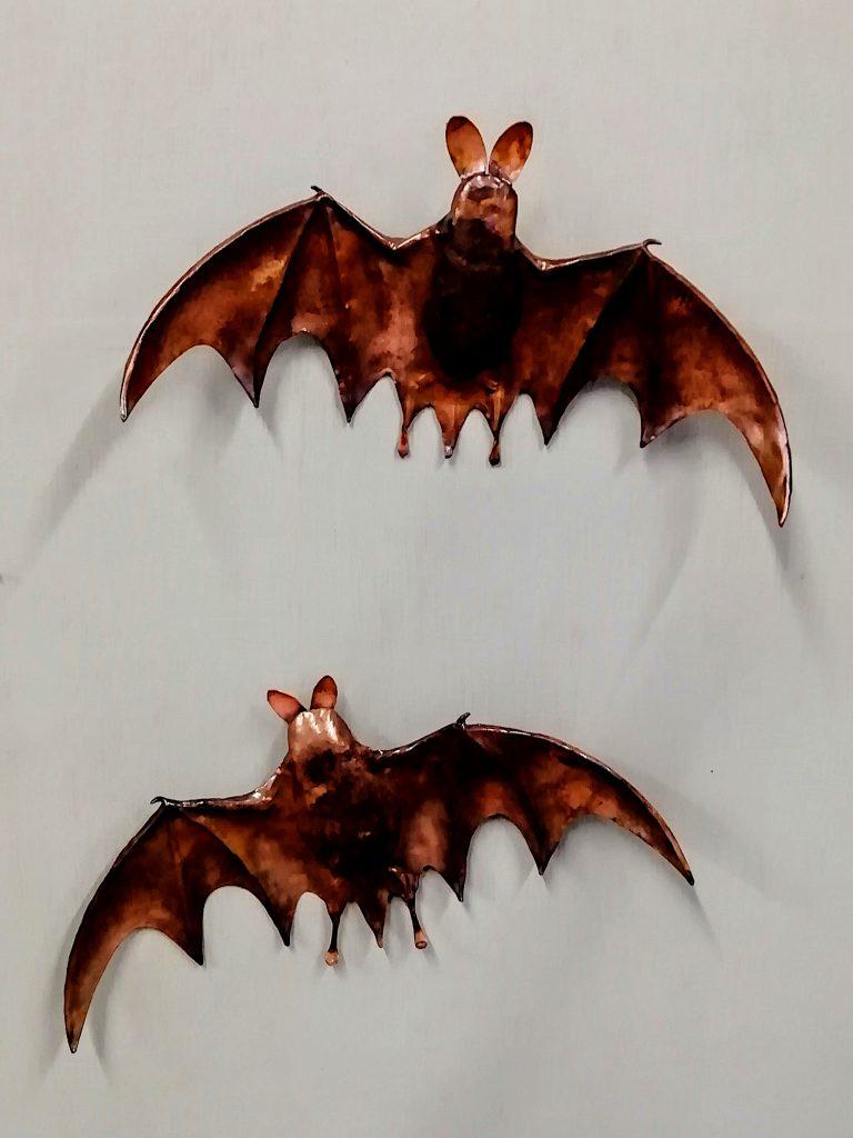 Emily Stone Copper Bat Sculpture 2