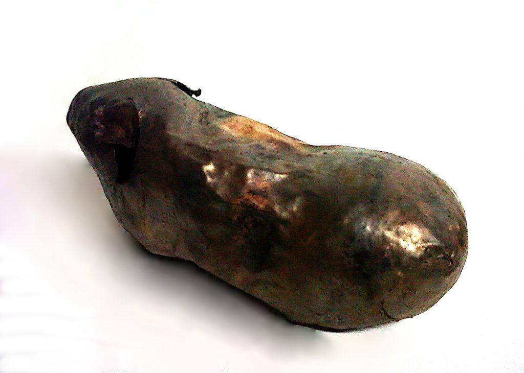 Emily Stone Copper Guinea Pig Sculpture